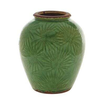 Tropical Ceramic Vase