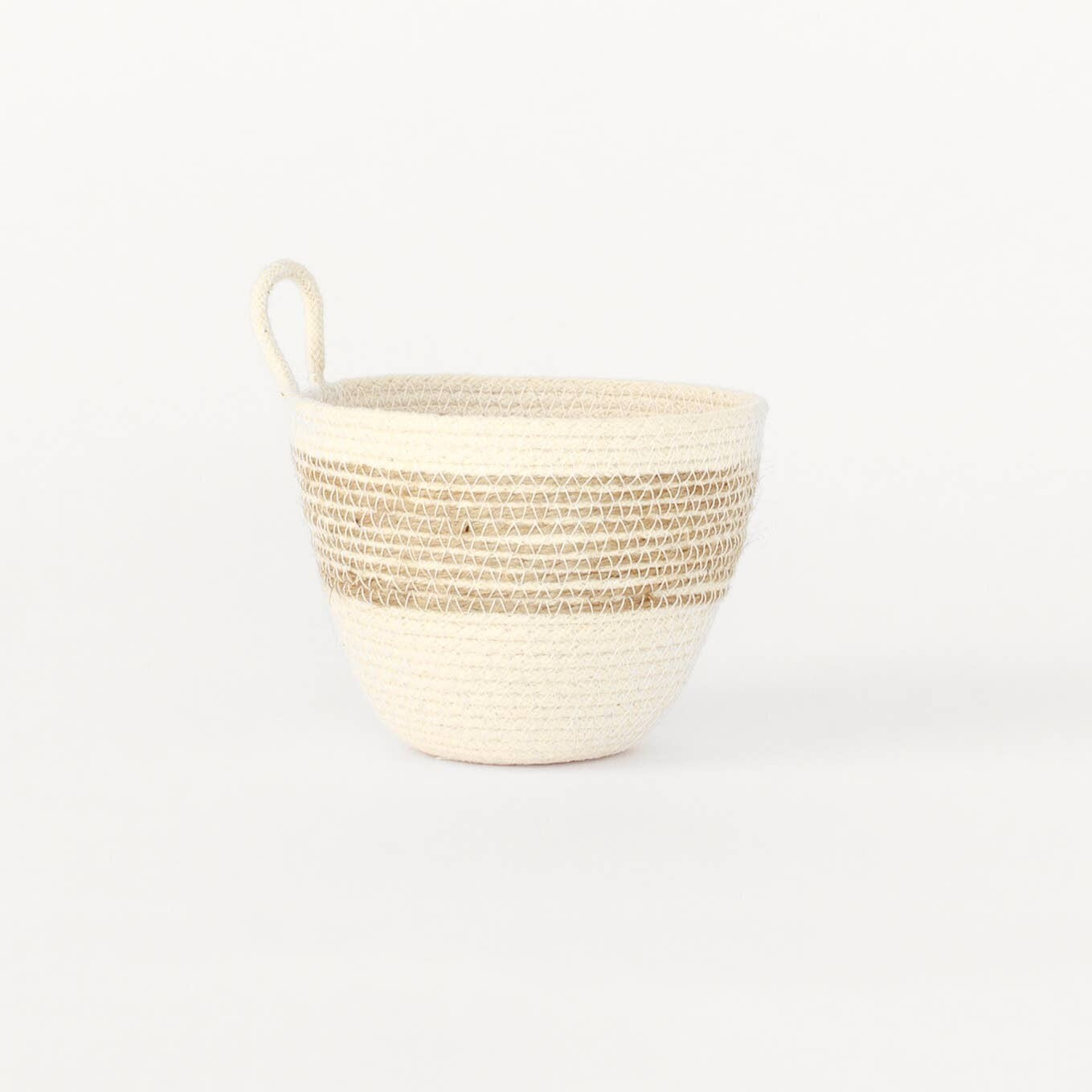 MOkun Jute Mini Planter