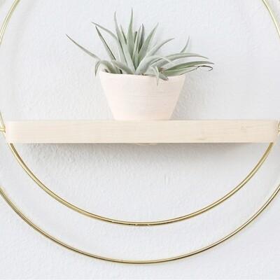 Plant Shelf Blush by Braid & Wood