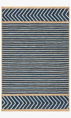Redondo Jute Rug by Loloi Denim