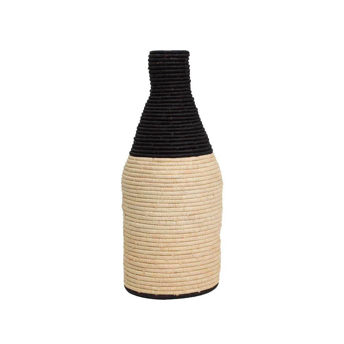 Black Malia Floor Vase by Kazil