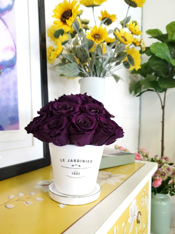 Le Jardinier Preserved Rose Centerpiece