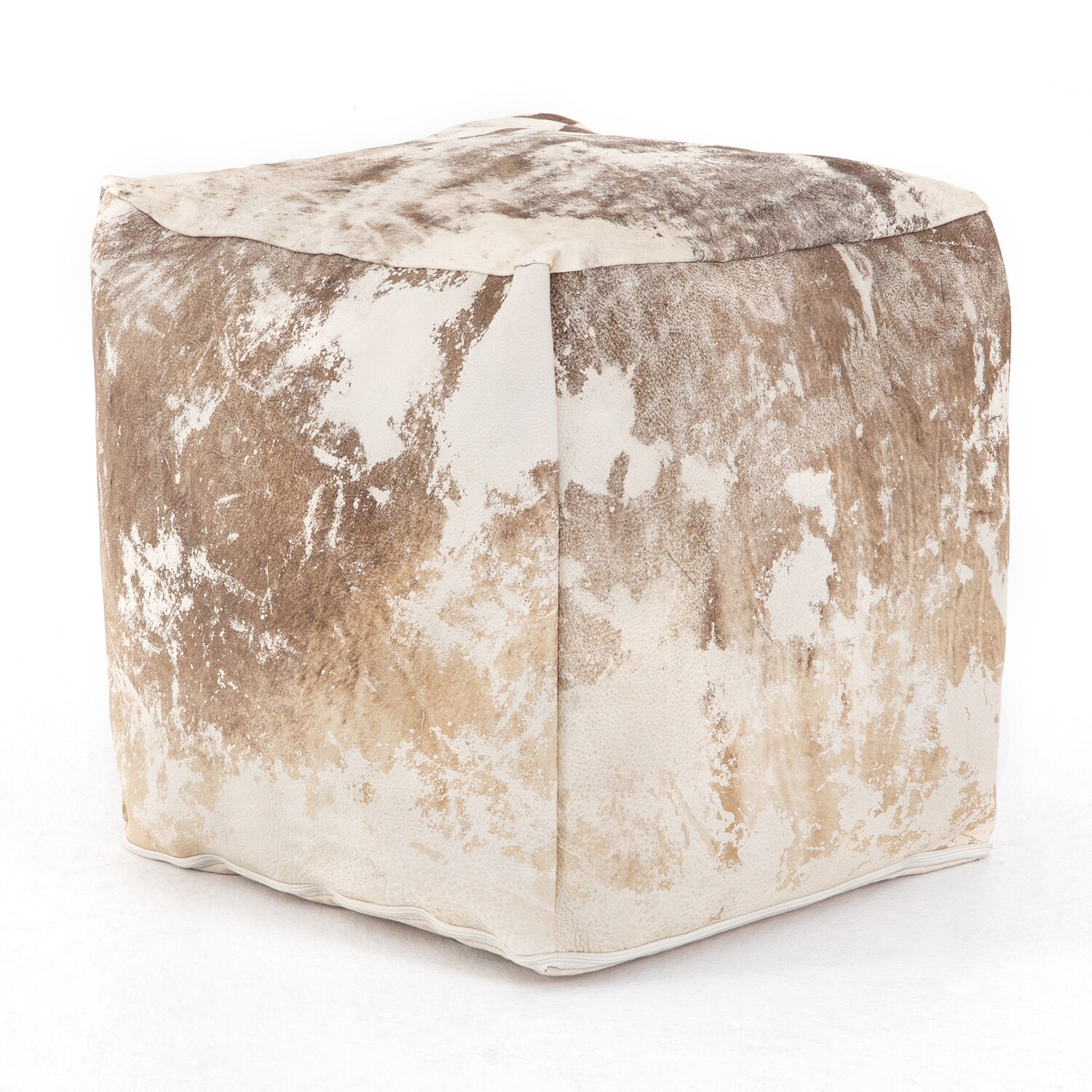 Harland Hide Pouf