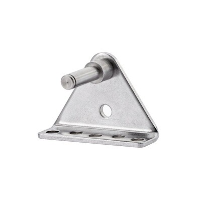 Mounting Bracket For Electric Actuator, Front, Mounting hole 8 mm