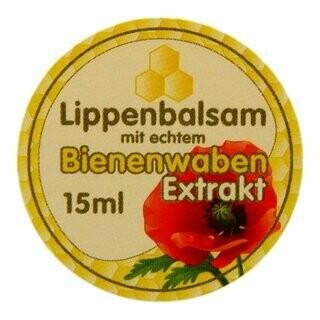Lippenbalsam im Glas 15 ml