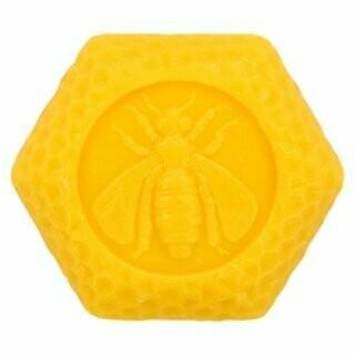 Honig Wabenseife mit Bienenwachs, 100g