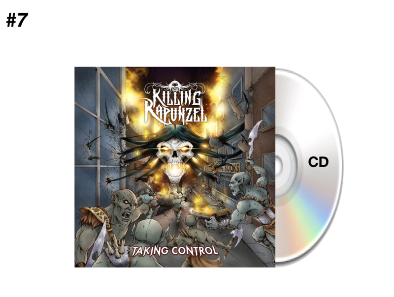 CD #1 - Taking Control (Debut Release)