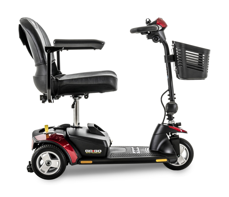 The Go Go Elite Traveller 3 Wheel Scooter