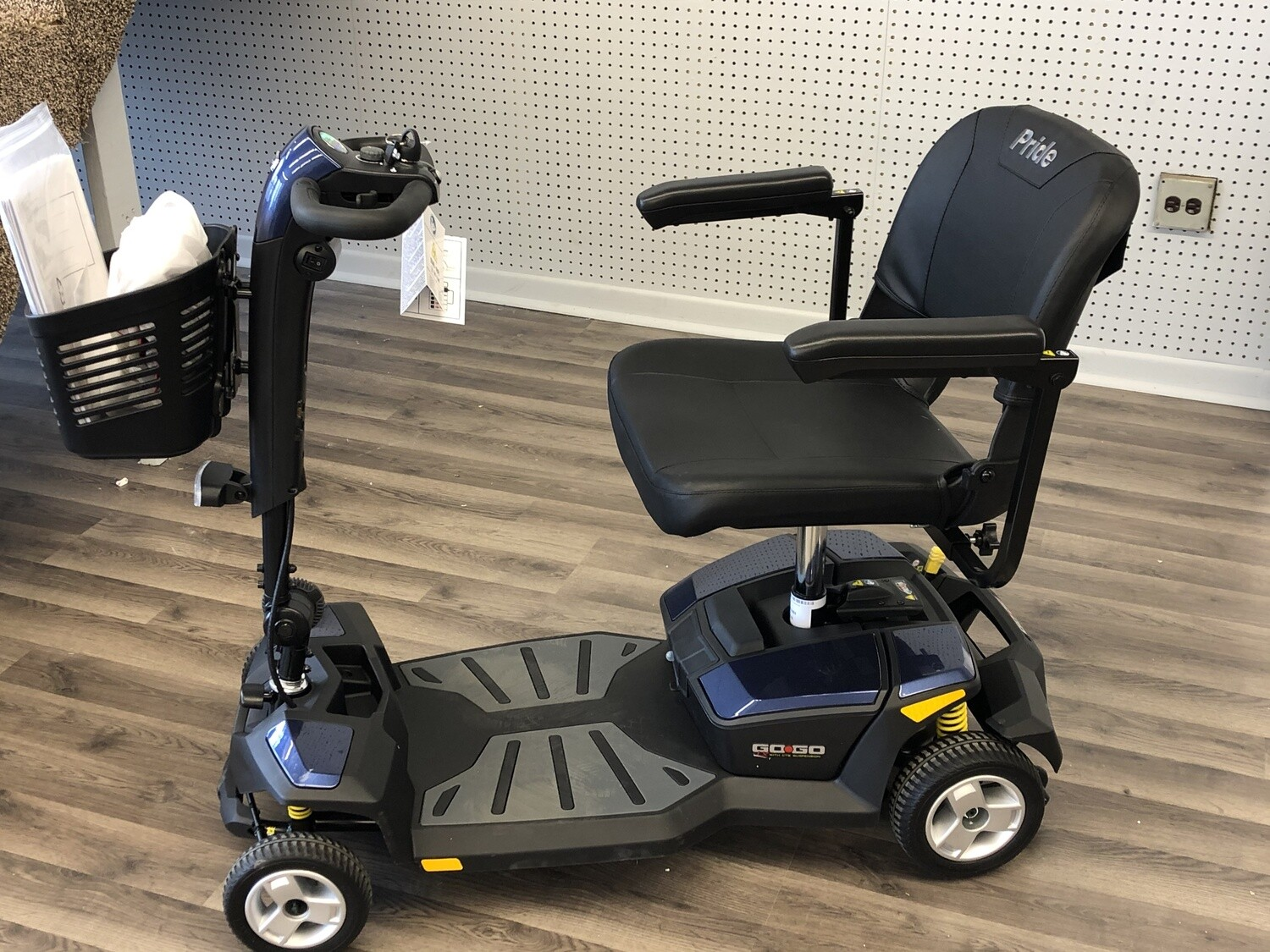 The Go Go LX CTS 4 wheel Scooter