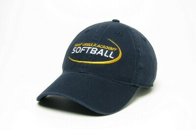 Hat - Navy - Softball Swoosh