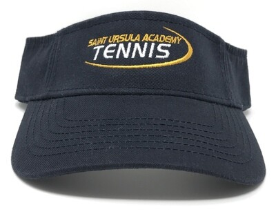 Visor - Navy - Tennis  Swoosh