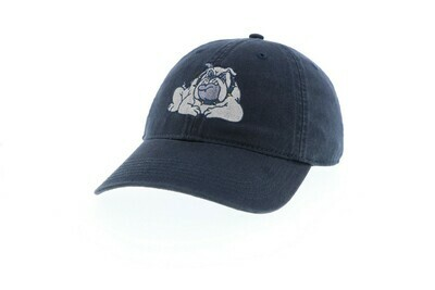 Hat - Navy - Bulldog