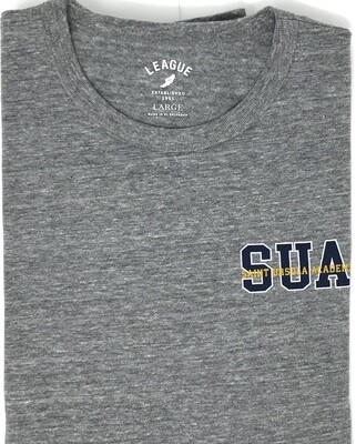 T-Shirt-Long Sleeve-LC SUA with Saint Ursula Academy