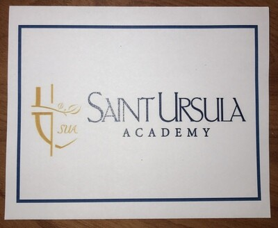 Note Card with SUA Logo