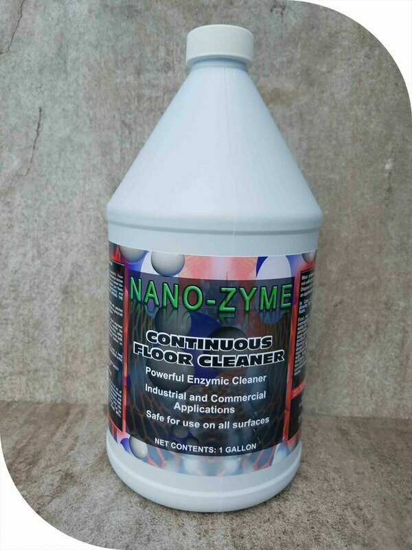 Nano-Zyme Continuous Floor Cleaner
