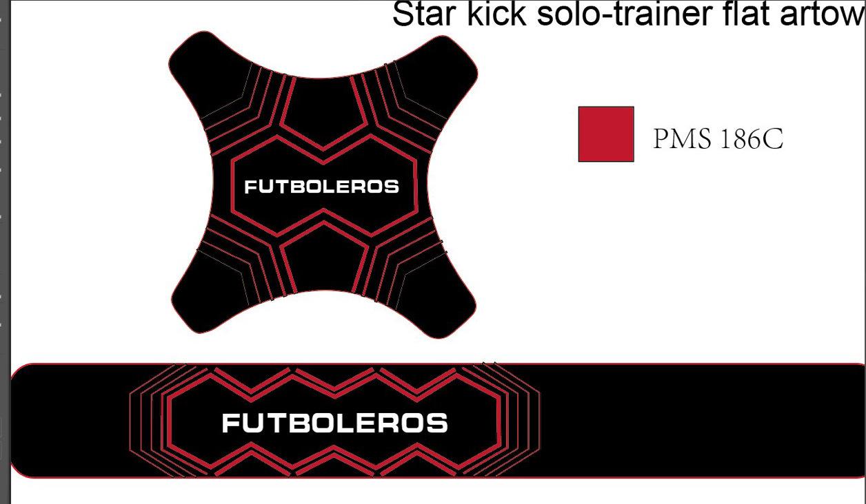 Futboleros Ball Sling Kicker - YELLOW