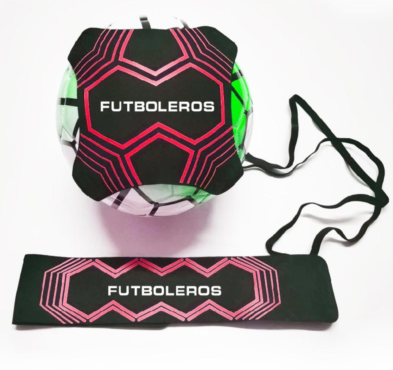 Futboleros Ball Sling Kicker - RED 00005