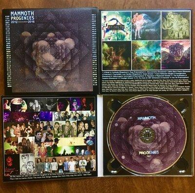 'Progenies' 2012-2016 Compilation CD Digipak