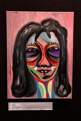 Layered Portrait by Cherri