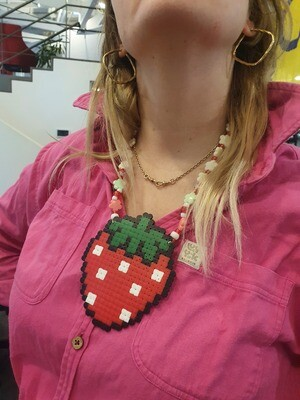 Strawberry Girls Necklace by EC