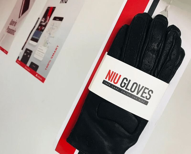 NIU Leder-Handschuhe
