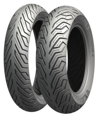 Michelin Reifen 120/70-12, 58S, TL, reinforced, City Grip 2,  M+S
