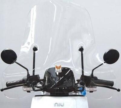 Mittelhohe  Windschutzscheibe für NIU NQi Serie