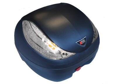 Premium Topcase 36L Sonderedition mit weißen Reflektoren