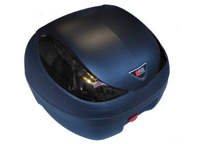 Premium Topcase 36L Sonderedition mit schwarzen Reflektoren