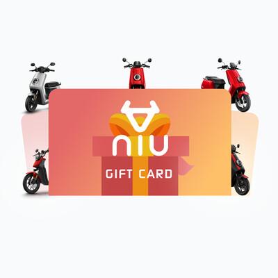 NIU Geschenk-Gutschein