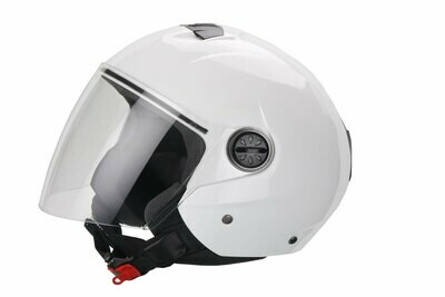 Jet-Helm Palermo glanz weiß