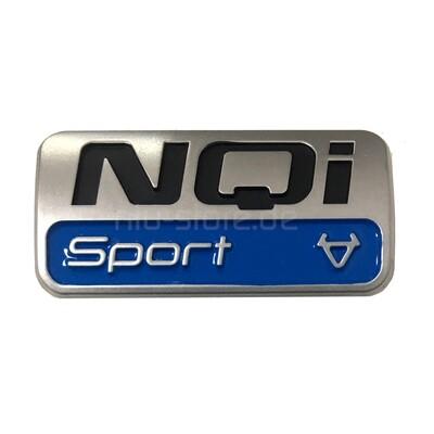 Original NIU NQi Sport Marken-Emblem Aufkleber | Set 2 Stück