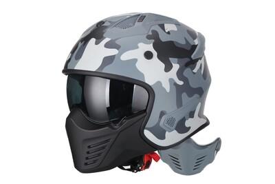 Jet-Helm Vito Bruzano camouflage