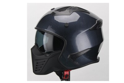 Jet-Helm Vito Bruzano Carbon