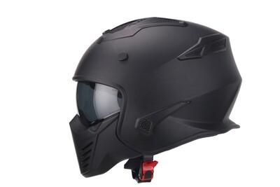 Jet-Helm Vito Bruzano matt schwarz