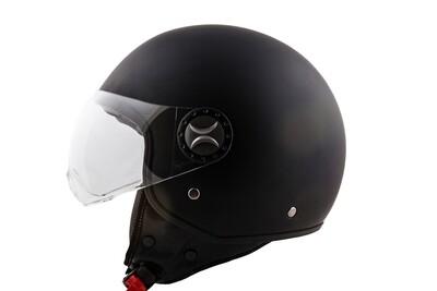 Jet-Helm Loreto matt schwarz