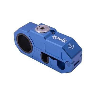 Kovix Top Lock Bremshebelschoß mit Alarm in blau