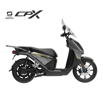 Super Soco CPX  | Stahl-Grau