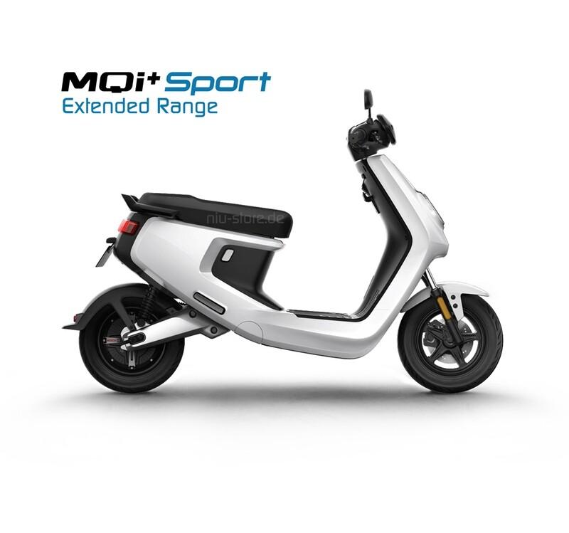 NIU MQI+ Sport 4842 | Extended Range