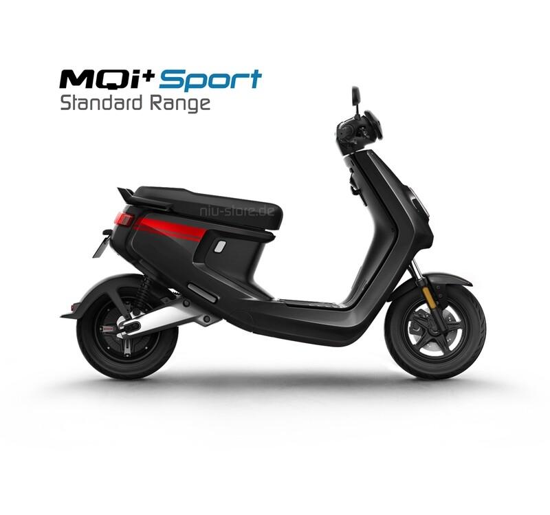 NIU MQI+ Sport 4831 | Standard Range