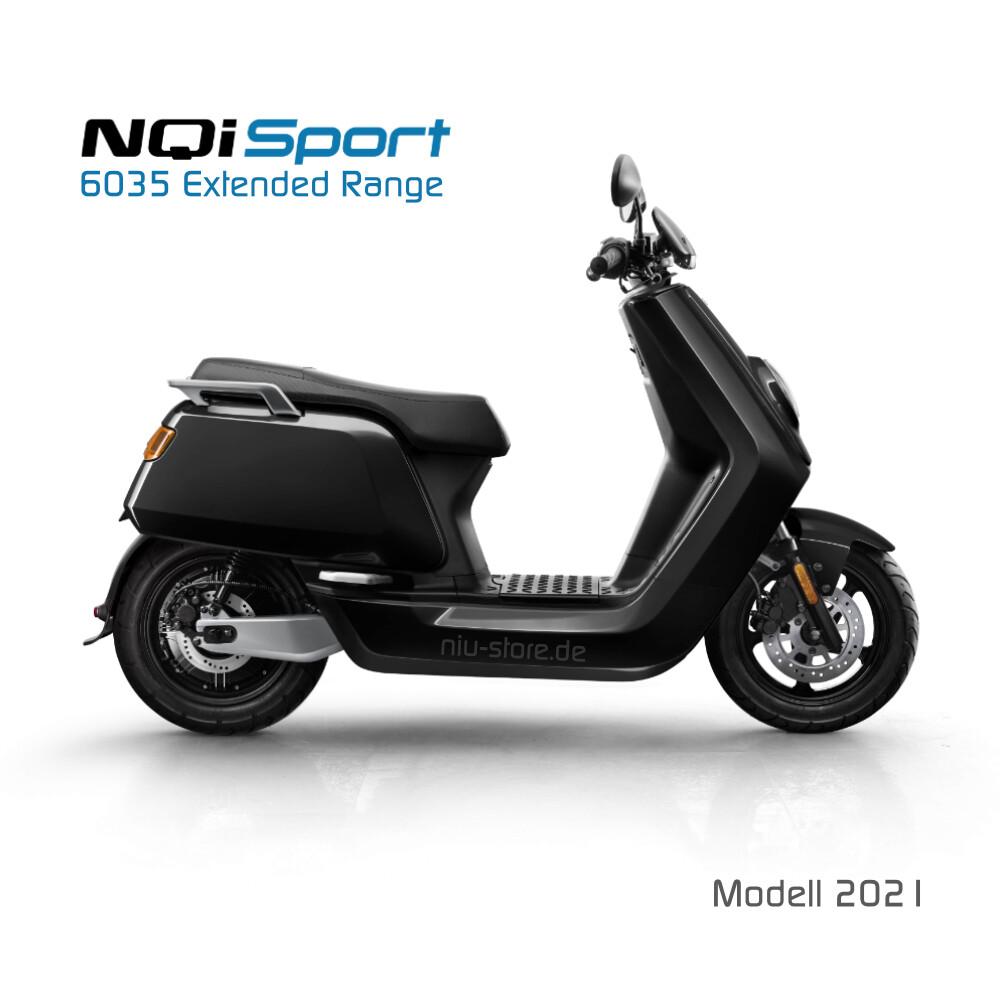 NIU NQI Sport 6035 | Extended Range