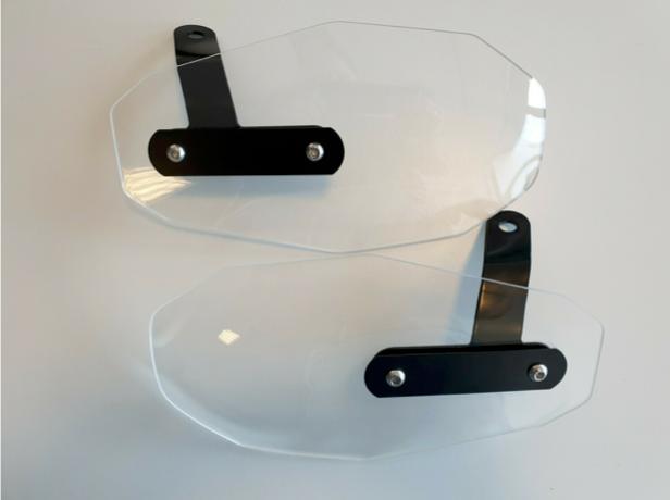 Handprotektoren | Windabweiser für NIU NQi-Serie