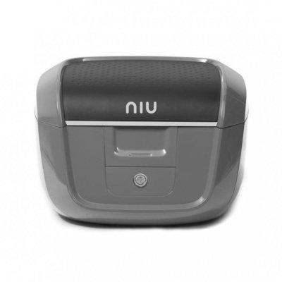 Topcase grau für NIU NQi Serie mit Gepäckbrücke / B-Ware