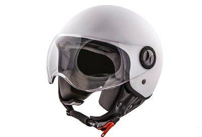 Jet-Helm Loreto matt weiß