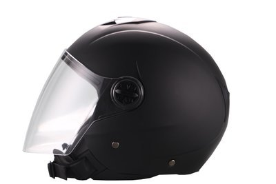 Jet-Helm Palermo matt schwarz