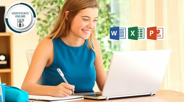 Curso online a elección entre Microsoft Word, Excel o PowerPoint + Certificado Europeo