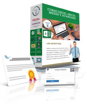 CURSO Online EXCEL: INICIO - MEDIO – AVANZADO 2013/2016