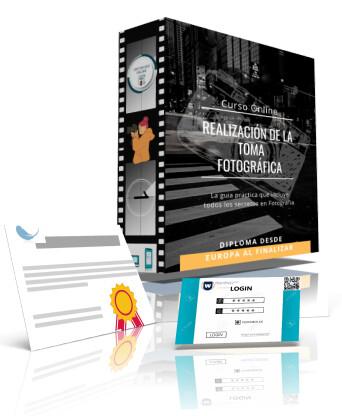 CURSO Online  REALIZACIÓN DE LA TOMA FOTOGRÁFICA