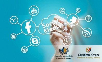 Experto en Social Media Marketing Curso  Marketing en redes sociales e implantación de negocio electrónico+Certificación