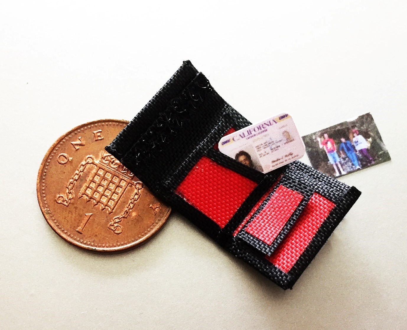 The Marty McFly Wallet 1:8 scale